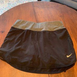Nike Dri-Fit Black Tennis Skort in size XS